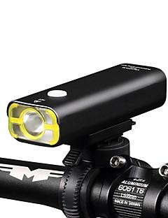 billiga Cykling-LED-Ficklampor Cykellyktor LED LED Cykelsport Ficklampa Vattentät Lättviktig Uppladdningsbart Batteri 400 Lumen Cykling