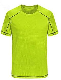 tanie Koszulki turystyczne-Męskie T-shirt turystyczny Na wolnym powietrzu Lekki, Szybkie wysychanie, Oddychalność T-shirt Kemping i turystyka / Multisport / Turystyczne