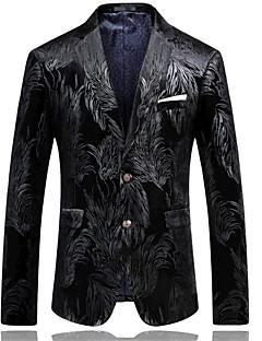 billige Herremote og klær-Trykt mønster Blazer-Trykt mønster Forretning Chinoiserie Herre