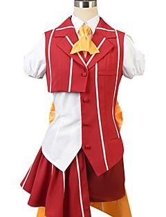 """billige Anime Kostymer-Inspirert av Programmene Frontier Cosplay Anime  """"Cosplay-kostymer"""" Cosplay Klær Annen Kortermet Trøye Topp Skjørte Sløyfe Mer Tilbehør"""