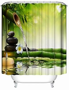 tanie Zasłony prysznicowe Najlepsza sprzedaż-Zasłony prysznicowe Nowoczesny Poliester Nowość Wodoodporny
