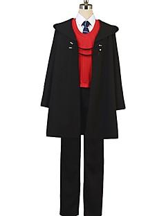 """billige Anime cosplay-Inspirert av Skjebne / Grand Order Anime  """"Cosplay-kostymer"""" Cosplay Klær Annen Langermet Frakk / Genser / Bukser Til Herre / Dame Halloween-kostymer"""