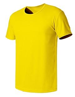 tanie Odzież turystyczna-Męskie Tričko na turistiku Na wolnym powietrzu Fast Dry Quick Dry Odvádí pot Oddychalność T-shirt N / Camping & Turystyka Outdoor