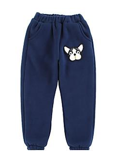 billige Bukser og leggings til piger-Børn Pige Geometrisk Trykt mønster Jacquard Vævning Bukser