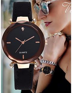 cheap Bracelet Watches-Women's Bracelet Watch Leather Black / Red / Green Imitation Diamond Analog Bangle Elegant - Red Green Pink One Year Battery Life / SSUO LR626