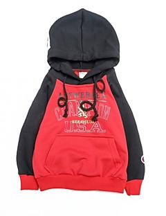 billige Hættetrøjer og sweatshirts til drenge-Børn Drenge Prikker Trykt mønster Langærmet Hættetrøje og sweatshirt
