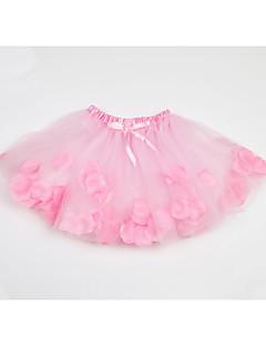 tanie Odzież dla dziewczynek-Geometryczny Dziewczyny Codzienny Wyjściowe Poliester Lato Bez rękawów Sukienka Urocza Aktywny White Czerwony Blushing Pink