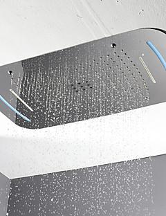 Χαμηλού Κόστους Ντους Βροχή-Σύγχρονο Ντουζιέρα Βροχή Χρώμιο Χαρακτηριστικό - LED / Ντους, Κεφαλή ντους