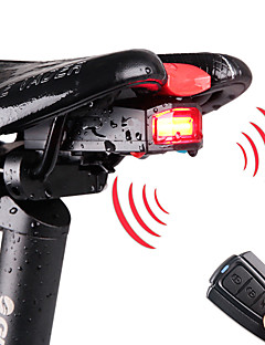 cheap Cycling-Rear Bike Light LED Cycling Remote Control / RC Waterproof 120lm Lumens Rechargeable Power Cycling / Bike