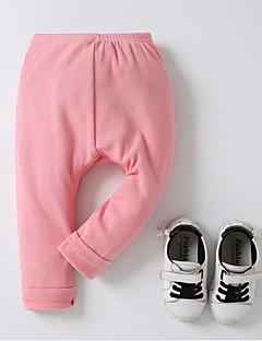 billige Babytøj-baby daglig solid farvede bukser, polyester forår sommer gade chic hær grøn rød rød 70 80 110 100 90