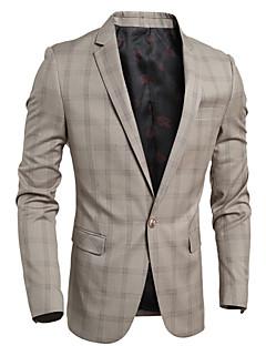 billige Herremote og klær-Blazer - Ruter Enkel Herre