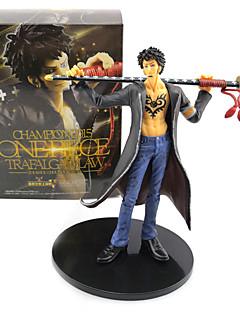 billige Anime cosplay-Anime Action Figurer Inspirert av One Piece Trafalgar Law PVC 17 cm CM Modell Leker Dukke