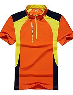 baratos Camisetas para Trilhas-Homens Camiseta de Trilha Ao ar livre Secagem Rápida, Respirabilidade, Redutor de Suor Camiseta N / D Acampar e Caminhar / Exercicio Exterior / Multi-Esporte