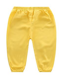 billige Babyunderdele-Baby Unisex Basale Ensfarvet Bukser