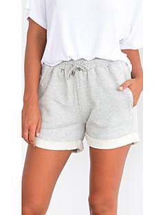 Χαμηλού Κόστους Σορτσάκια-Γυναικεία Βασικό Σορτσάκια Παντελόνι Μονόχρωμο