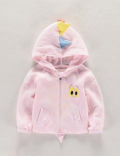 billige Babytøj-Baby Pige Unisex Trykt mønster Patchwork Langærmet Jakkesæt og blazer