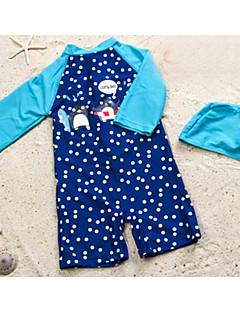 cheap Boys' Swimwear-Toddler Boys' Solid Colored Polka Dot Swimwear
