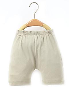 billige Babyunderdele-Baby Unisex Basale Ensfarvet Bomuld Bukser