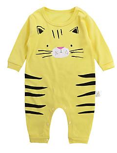 billige Babytøj-Baby Unisex Geometrisk Langærmet En del