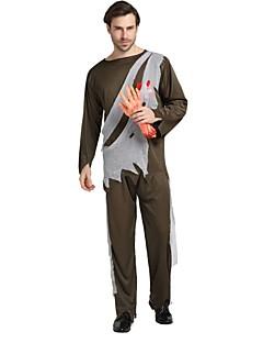 billige Halloweenkostymer-Engel & Demon / Spøkelse Drakter Unisex Halloween / Karneval / De dødes dag Festival / høytid Halloween-kostymer Mørkegrønn Ensfarget /