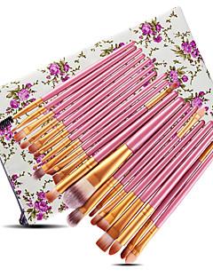 billiga Sminkborstar-20-Pack Makeupborstar Professionell Rougeborste / Ögonskuggsborste / Läppensel Nylon fiber Professionell / Fullständig Täckning Plast