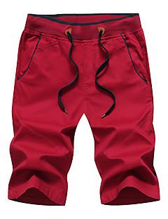 tanie Turystyczne spodnie i szorty-Męskie Spodenki turystyczne Na wolnym powietrzu Anatomiczny kształt, Oddychalność, Elastyczny Spodnie Ćwiczenia na zewnątrz