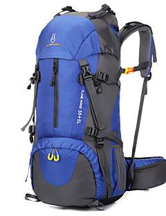 billiga Ryggsäckar och väskor-60 L Ryggsäckar / Ryggsäck - Mateial som andas Utomhus Camping, Resor Nylon Röd, Grön, Marinblå