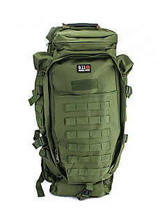 billiga Ryggsäckar och väskor-60 L Ryggsäckar - Snabb tork, Bärbar Utomhus Camping Nylon Armégrön