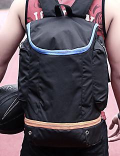 お買い得  バックパック-20-35 L バックパック - 耐久性, 通気性 アウトドア ハイキング, バスケットボール ナイロン ブラック