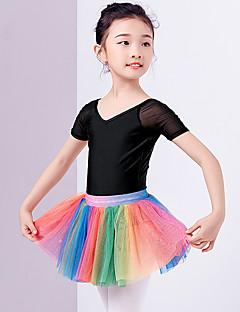 tanie Stroje baletowe-Balet Tutus i spódnice Dla dziewczynek Szkolenie / Wydajność Poliester Zgnioty Wysoki Spódnice
