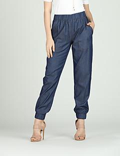 Χαμηλού Κόστους Γυναικεία Παντελόνια & Φούστες-Γυναικεία Βασικό Chinos Παντελόνι Μονόχρωμο