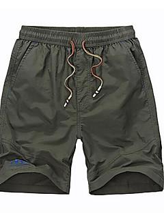 billige Herrebukser og -shorts-Herre Grunnleggende Shorts Bukser Ensfarget