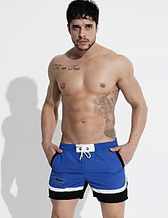 billige Herrebukser og -shorts-Herre Aktiv / Grunnleggende Chinos / Shorts Bukser Stripet / Fargeblokk