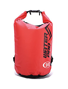 billige Tørposer & Tørbokse-20 L Vandtæt tørtaske Letvægt, Regn-sikker, Påførelig for Svømning / Klatring / Udendørs Træning