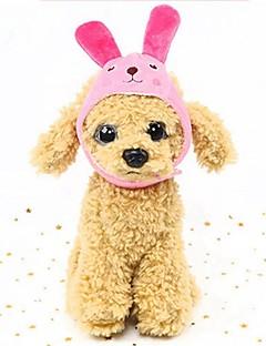 billiga Hundkläder-Gnagare / Hund / Kaniner Hattar, kepsar och snusnäsdukar / Snusnäsdukar och mössor Hundkläder Figur Fuchsia / Grön / Blå Ner Kostym För husdjur Dam Kostymsmycken