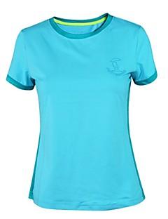 baratos Camisetas para Trilhas-Mulheres Camiseta de Trilha Ao ar livre Secagem Rápida, Respirabilidade, Fitness Camiseta N / D Exercicio Exterior