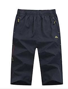 baratos Calças e Shorts para Trilhas-Homens Shorts de Trilha Ao ar livre Secagem Rápida Calças Exercicio Exterior