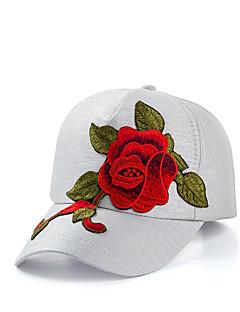 billige Hatter til damer-Dame Grunnleggende / Ferie Baseballcaps - Netting, Blomstret