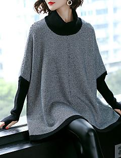 tanie Swetry damskie-Damskie Golf Luźna Pulower Geometric Shape Długi rękaw