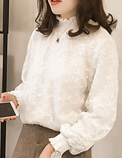 Χαμηλού Κόστους Μπλούζα-γυναικεία μπλούζα - ανοιχτόχρωμο χρυσοκέντημα