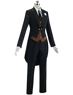 """billige Anime cosplay-Inspirert av Fate / zero Mordred Anime  """"Cosplay-kostymer"""" Cosplay Klær Enkel Frakk / Vest / Trøye Til Dame Halloween-kostymer"""