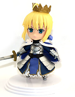 billige Anime cosplay-Anime Action Figurer Inspirert av Skjebne / Grand Order Saber PVC 11 cm CM Modell Leker Dukke