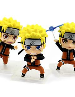 billige Anime cosplay-Anime Action Figurer Inspirert av Naruto Naruto Uzumaki PVC 9 cm CM Modell Leker Dukke