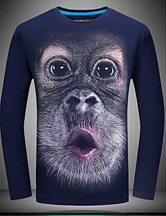 Χαμηλού Κόστους Κορυφαία σε Πωλήσεις-Ανδρικά T-shirt Βίντατζ Ζώο