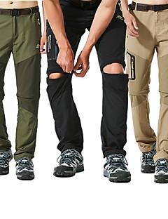 baratos Calças e Shorts para Trilhas-Homens Calças de Trilha Ao ar livre A Prova de Vento, Á Prova-de-Chuva, Secagem Rápida Calças Caça / Pesca / Equitação