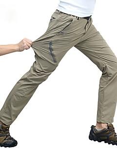tanie Odzież turystyczna-Męskie Spodnie turystyczne Na wolnym powietrzu Szybkie wysychanie, Oddychalność, Odporny na UV Wiosna, jesień, zima, lato Spodnie Piesze wycieczki Wspinaczka Ćwiczenia na zewnątrz XL XXL XXXL