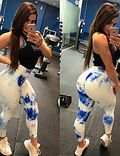 48641bb9b Women s Sexy   Jacquard Yoga Pants - White