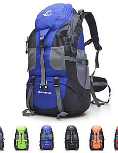 billiga Ryggsäckar och väskor-50 L Ryggsäckar - Lättvikt, 3D Tablett, Bärbar Utomhus Fiske, Camping, Resor oxford Röd, Grön, Blå