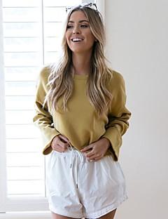 cheap Women's Tops & Sets-Women's Basic / Street chic Sweatshirt - Solid Colored