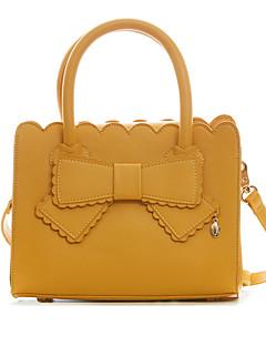 billiga Lolitamode-väska väska Stilig Justerbara band Dam Gul / Blå lolita tillbehör Ensfärgat Rosett Väska PU-läder / Polyuretan Läder Halloweenkostymer